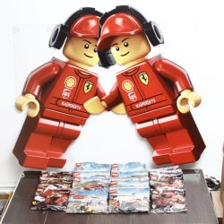 Lego Shell V Power Ferrari Complete Sets