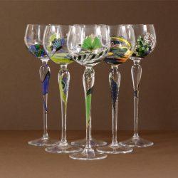 Paul Nagel Romantic Poetry Wine Glasses