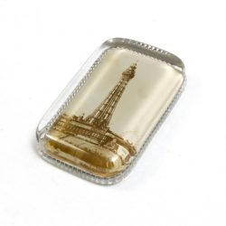 Vintage Glass Paper Weight