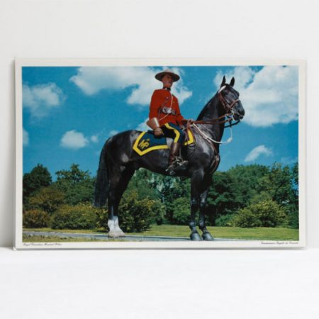 Royal Canadian Mountie Photo