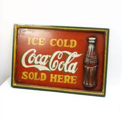 2D coca cola sign