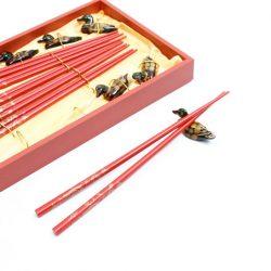 Red Chopstick Set