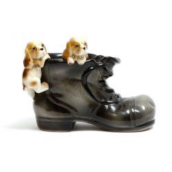 puppy spaniels in boot money box