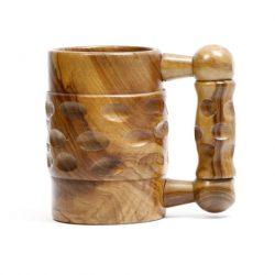 unusual treenware tankard