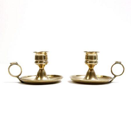 quality brass chambersticks