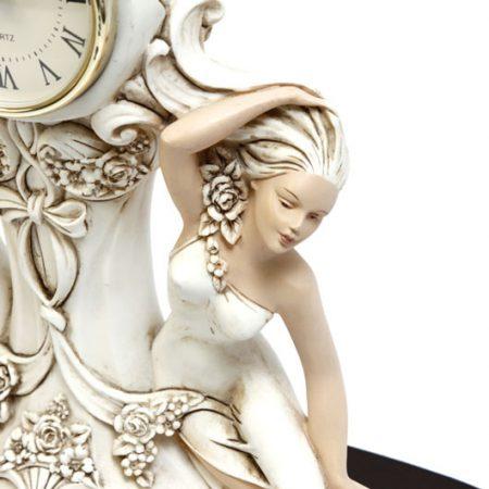 close up of ornamental lady
