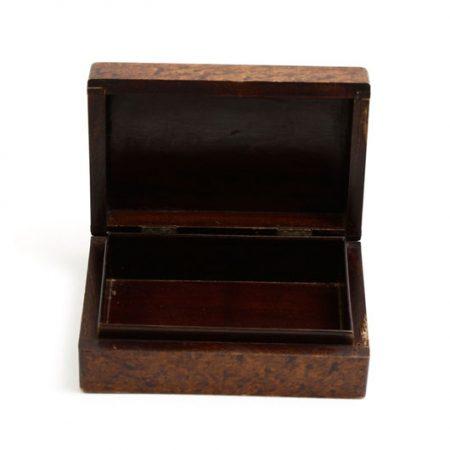 veneered box