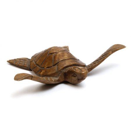 carved sea turtle