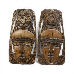 african wood art