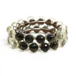 60s faceted dome braclet