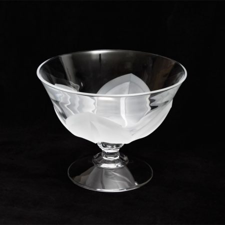 jg durand footed bowl