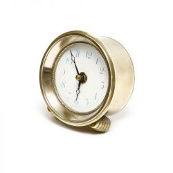 brass laura ashley clock