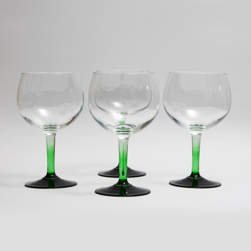 Green Stem Tanqueray Gin Copa Glass Initialed 187 Kode Store Co Uk