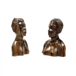 bocote wood busts