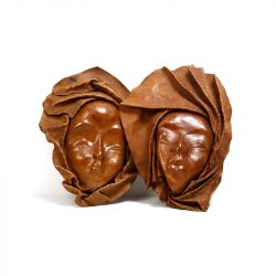 haiti leather masks
