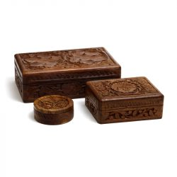 indian wood boxes 2