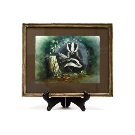 badgers in den dufex