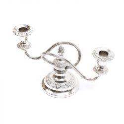 ianthe silverplate candelabra
