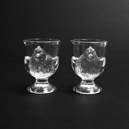 luminarc glass egg cup