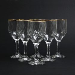 optic design wine glasses