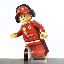 shell lego promotional figure