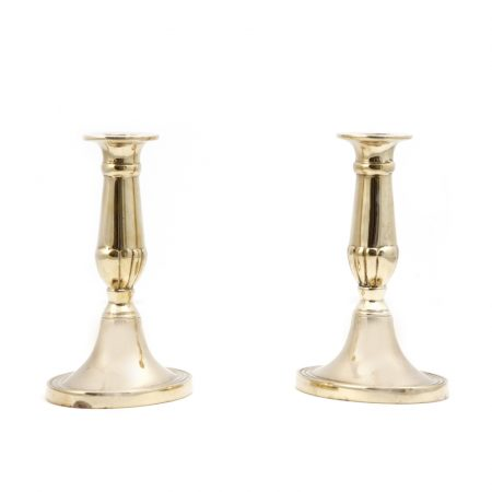 small brass candlesticks 2