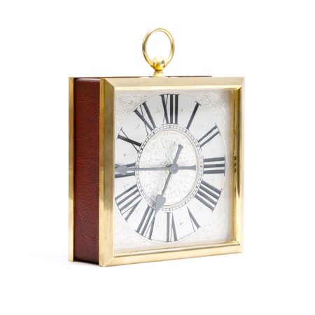 swiss looping mantle clock