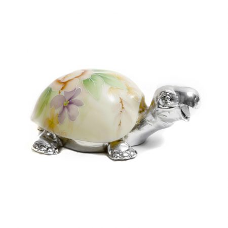 silver plated lucky tortoise 2