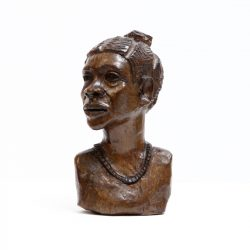 proud bust of african lady