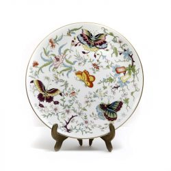 royal Worcester exotic butterflies plate