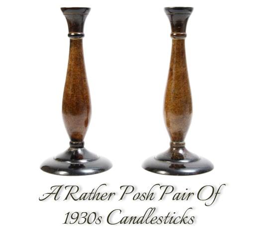 1930s candlesticks