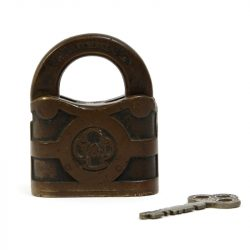 antique yale padlock