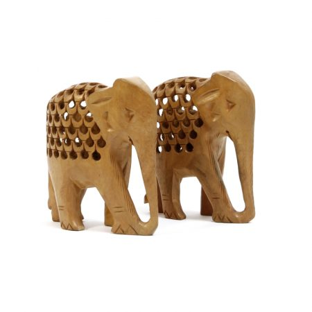 jaali art elephants