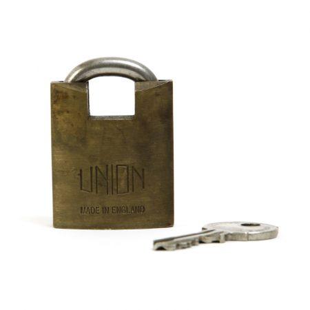 vintage union padlock