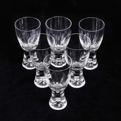 tapio wirkkala design wine glasses
