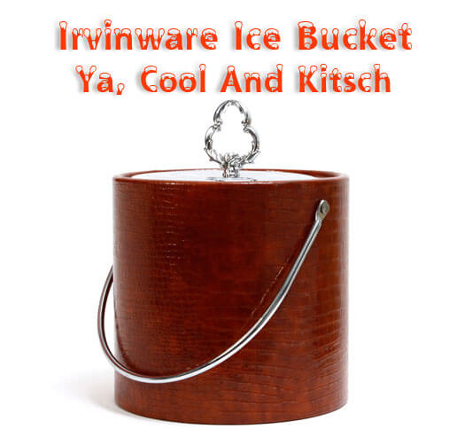Irvinware Ice Bucket USA