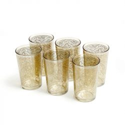 Italian Hand Painted Highball Glasses
