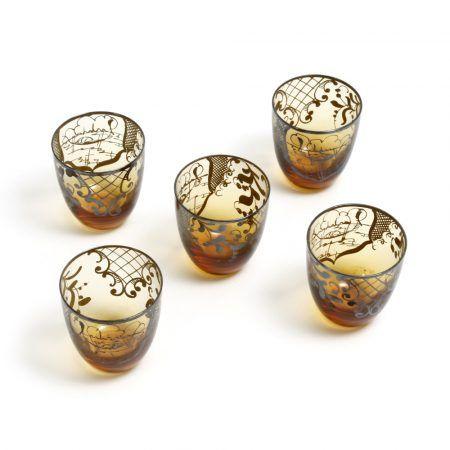 arabian glass tumblers 1
