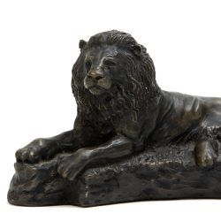 lion sculpture by john letts studio