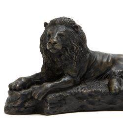 lion sculpture by john letts studio