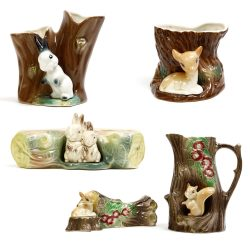 hornsea fauna pottery collection